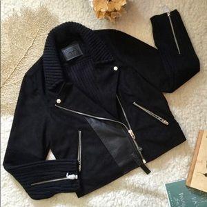 Blank NYC knit faux suede biker jacket (LE!)